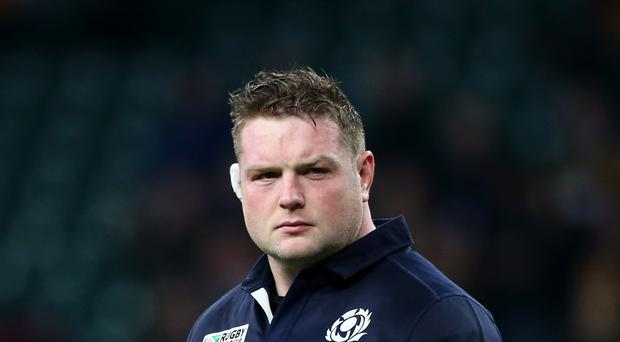 Jon Welsh has not played for Scotland since the 2015 World Cup