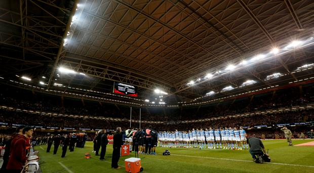 Wales v Argentina – Autumn International – Principality Stadium