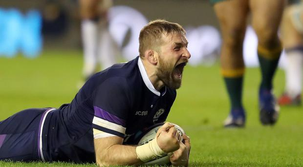 Scotland skipper John Barclay has been passing on his knowledge of his Scarlets team-mates to his international colleagues