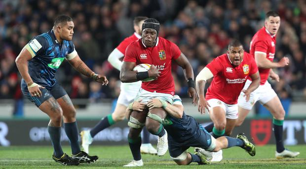 Maro Itoje grew close with Alun Wyn Jones during the Lions tour