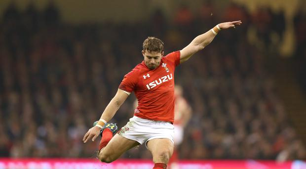 Leigh Halfpenny gave Wales a late scare because of illness