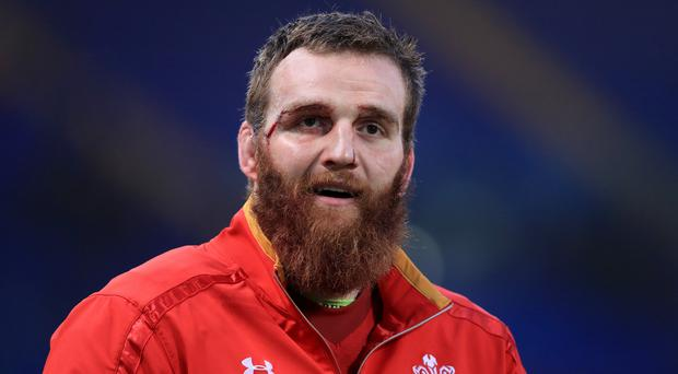 Jake Ball has signed a new deal with Scarlets