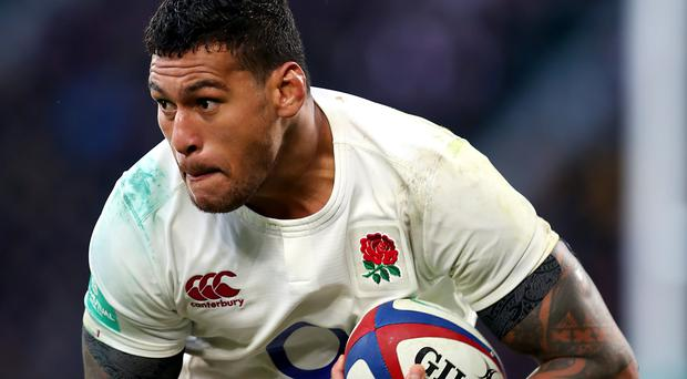 Nathan Hughes starts at number eight for England against Scotland