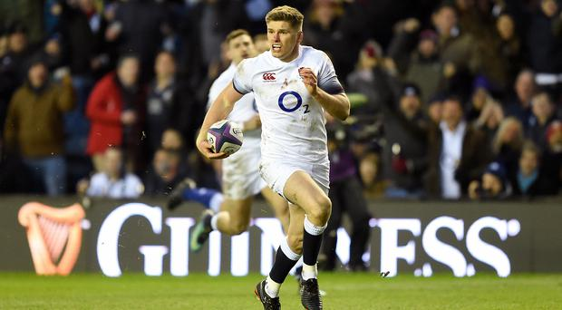 Owen Farrell was involved in a scuffle