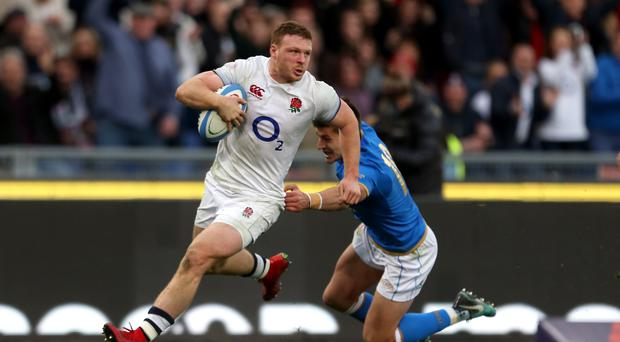 Sam Simmonds is set to start at number eight for England against Ireland