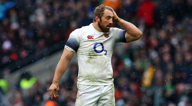Chris Robshaw says England must regain confidence