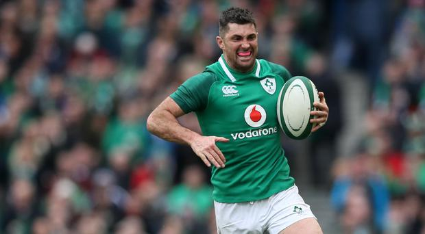 Rob Kearney, pictured, has been handed a strong endorsement by Joe Schmidt
