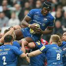 Maro Itoje was in fine form for Saracens