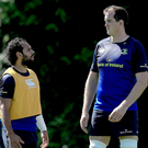 Final mission: Isa Nacewa and Devin Toner are eyeing glory