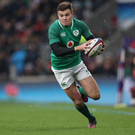 Young gun: Jacob Stockdale was named Young Player of the Year