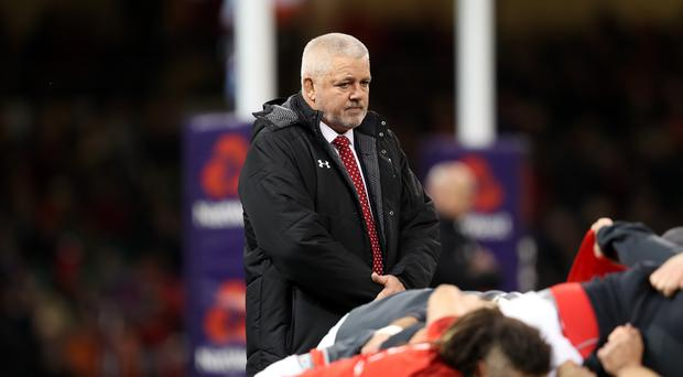 Wales head coach Warren Gatland has made eight changes for the opening Test against Argentina. (David Davies/PA Images)