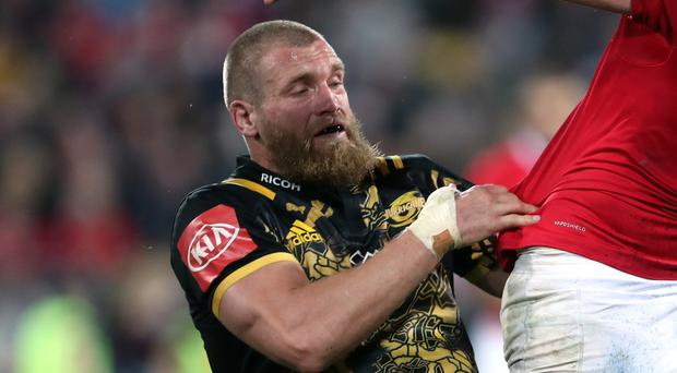 Brad Shields will be on the bench for England in Johannesburg (David Davies/PA)