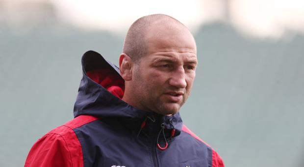 England forwards coach Steve Borthwick expects a physical battle in the three-match Test series (David Davies/PA)