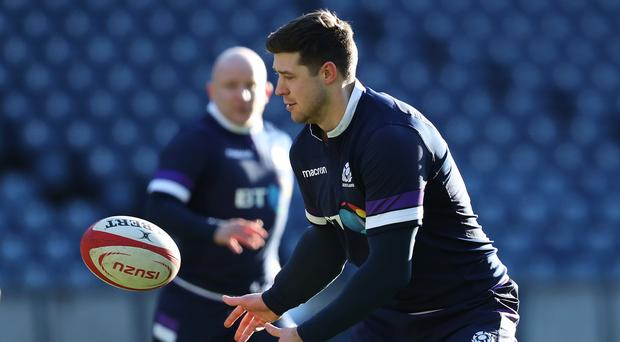 Grant Gilchrist was impressed by the Scotland pack (Andrew Milligan/PA)