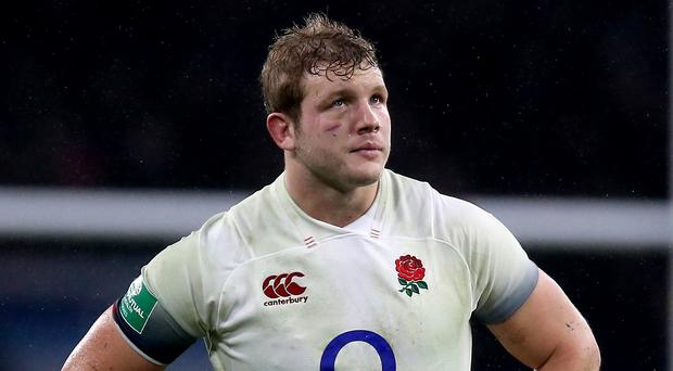 Joe Launchbury could be absent again for England (Nigel French/PA)