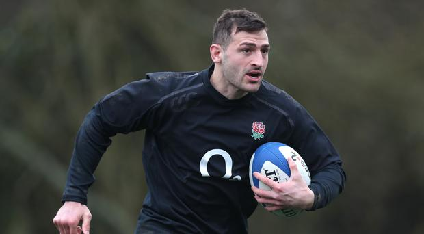 Jonny May has called on England to tighten up their discipline (Andrew Matthews/PA)