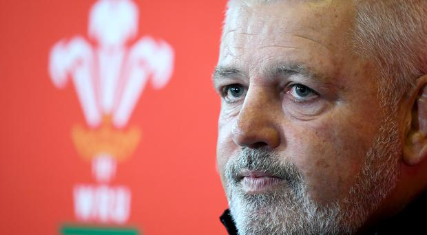 Wales' Head coach Warren Gatland was delighted with his side's performance (Ben Birchall/PA)