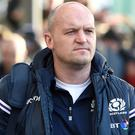 Scotland head coach Gregor Townsend saw his side slump to a surprise defeat to the USA (Ian Rutherford/PA)