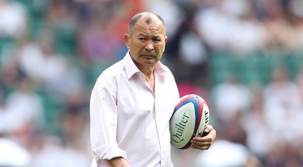The RFU has given Eddie Jones its backing (Andrew Matthews/PA)