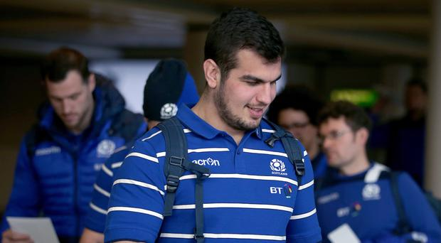 Stuart McInally has not been able to play after being named captain on tour (Jane Barlow/PA)