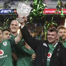 Ireland celebrate in Sydney (Rick Rycroft/AP)