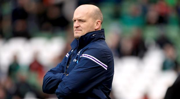 Gregor Townsend was satisfied with Scotland's response against Argentina (Donall Farmer/PA)