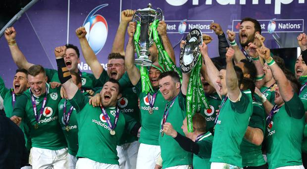 Ireland followed up their Six Nations Grand Slam with a series win in Australia (Gareth Fuller/PA)