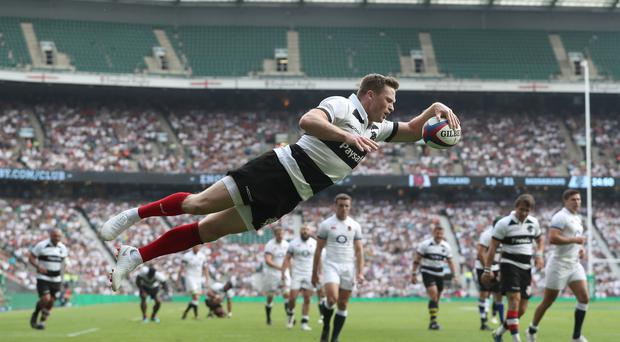 Chris Ashton is back in the England training set-up following his move to Sale (Andrew Matthews/PA)