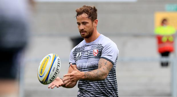 Gloucester have fined Danny Cipriani £2,000 for his scuffle at a Jersey nightclub (Donall Farmer/PA)