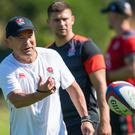 Eddie Jones wants to find the right balance between rugby and family at the World Cup (Dominic Lipinski/PA)