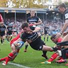 Freddie Burns had scored 15 points before his late blunder (David Davies/PA)