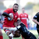 Billy Vunipola, left, has been ruled out of England's autumn Test campaign through injury (Graham Stuart/PA)