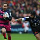 Danny Cipriani has been left out of England's autumn series squad despite an impressive start to the season with Gloucester (Mike Egerton/PA Images).