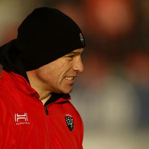 Toulon Scrum Coach Richard Cockerill during the Champions Cup match at Allianz Park, London.