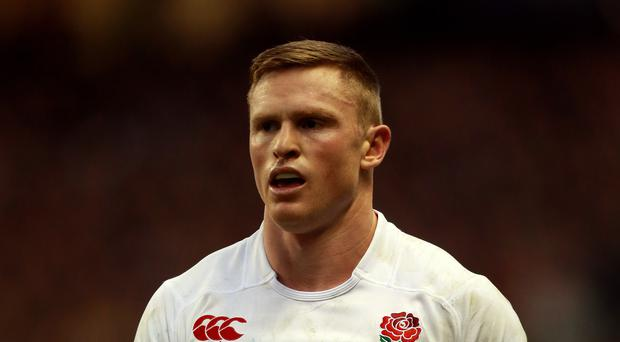 Eddie Jones has no concern on playing Chris Ashton (David Davies/PA)