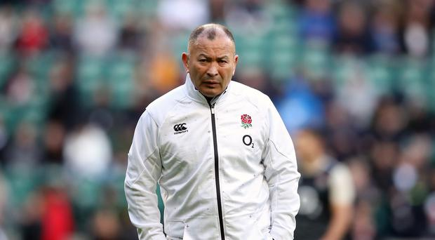 England coach Eddie Jones is eager to face New Zealand (Adam Davy/PA)