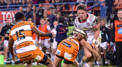 Young gun: Angus Kernohan could feature against Uruguay