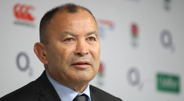 England head coach Eddie Jones (Adam Davy/PA)