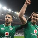 "Johnny Sexton, right, has backed Conor Murray's ""smart"" move not to declare himself ready to take on New Zealand this weekend (Gareth Fuller/PA)"