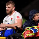 George Kruis suffered a calf injury against New Zealand (Mike Egerton/PA