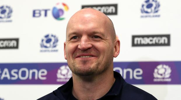 Scotland head coach Gregor Townsend says South Africa are among the best three teams in the world (Andrew Milligan/PA)