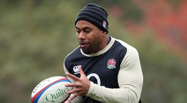 Joe Cokanasiga will make his England debut against Japan (Adam Davy/PA)
