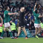 Ireland had never beaten the All Blacks on home soil before (Niall Carson/PA)