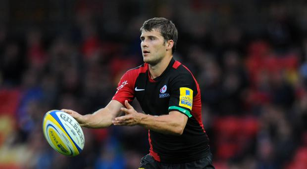 England scrum-half Richard Wigglesworth has signed a new one-year contract extension with Saracens (Andrew Matthews/PA Images).