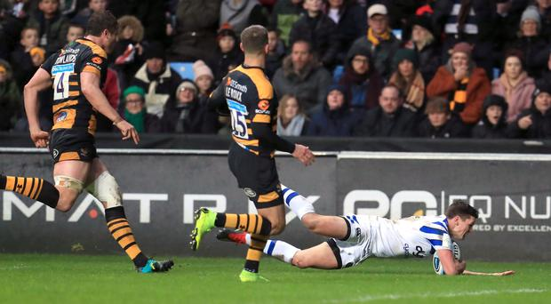 Freddie Burns (right) was named man of the match (Mike Egerton/PA)