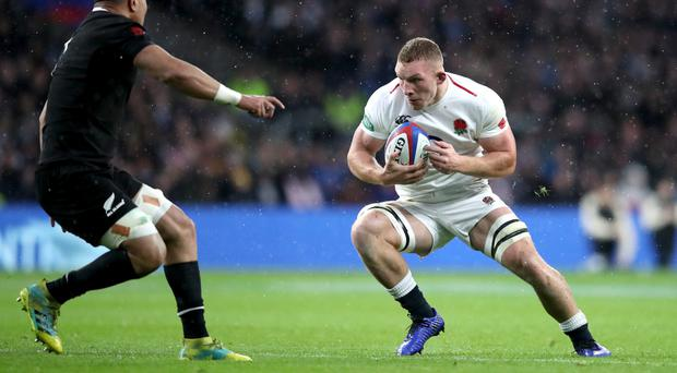 England's Sam Underhill will not take part in the Six Nations (Adam Davy/PA)