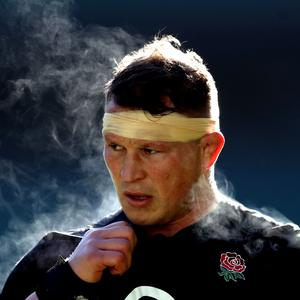 Dylan Hartley is sidelined by a knee injury (Adam Davy/PA)