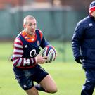 England head coach Eddie Jones could be about to recall Mike Brown at full-back against Ireland (Adam Davy/PA)