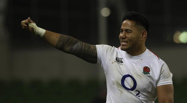 Manu Tuilagi excelled in England's opening win over Ireland in Dublin (Lorraine O'Sullivan)