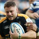 Thomas Young returned for Wasps (David Davies/PA)